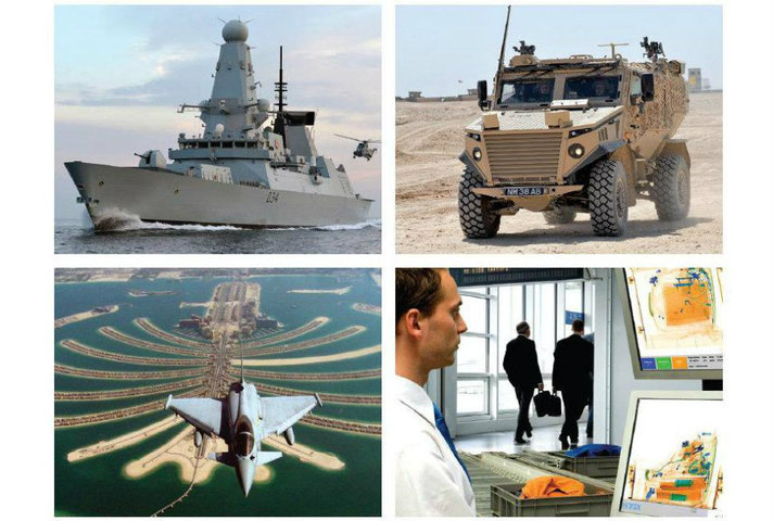 Images of defence and security equipment / services