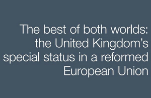 The best of both worlds: the United Kingdom's special status in a reformed European Union