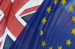 EU UK Flag