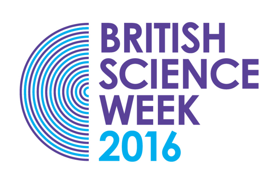 British Science Week 2016 logo