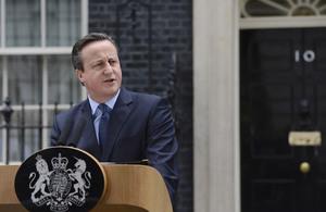 PM at Downing Street