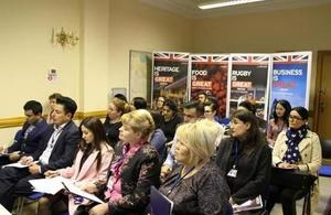 British Embassy in Tashkent hosts a meeting for travel agencies