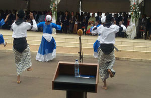 National Ballet thrilling audience on Commonwealth Day in Yaounde-Cameroon