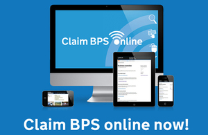 Claim BPS online now!
