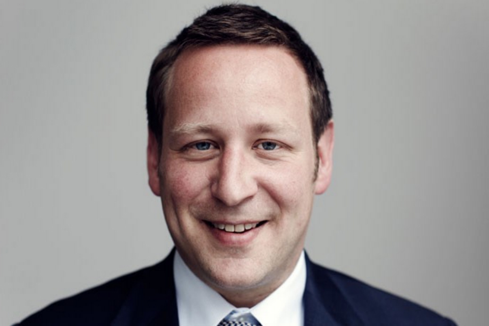 Minister for Culture Ed Vaizey