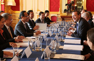 Thailand-UK Strategic Dialogue on 22 March 2016