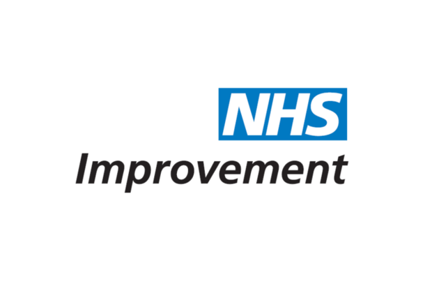 NHS Improvement's logo