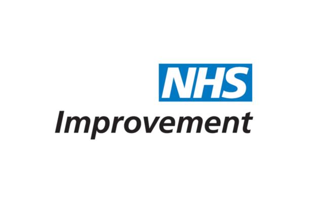 NHS Improvement's logo