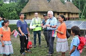 Ernegía solar para la comunidad Añangu