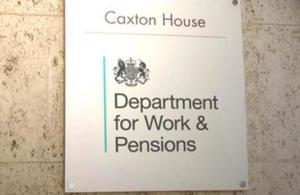 Caxton house plaque (Image Crown Copyright)