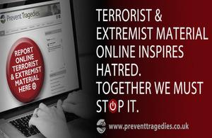 Prevent tragedies online campaign image