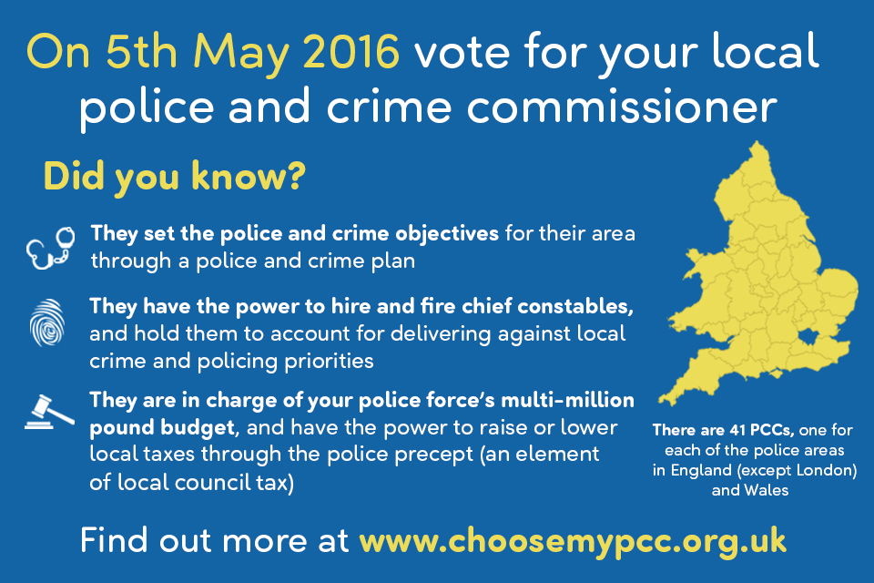 Vote for your local PCC