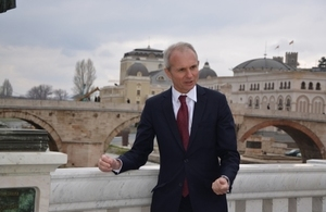 Minister for Europe statement on recent developments in Macedonia