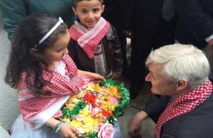 زيارة السفير أوكدن الى محافظة الكرك