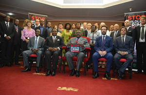 President Mutharika and the ambassadors