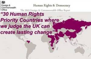 Maldives named FCO 'Human Rights Priority Country'