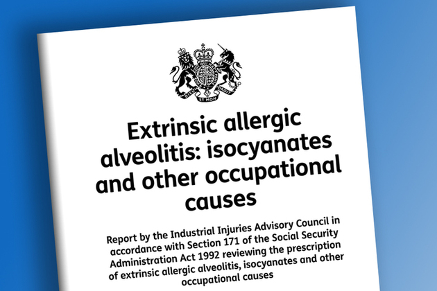Extrinsic allergic alveolitis: isocyanates and other occupational causes: IIAC report