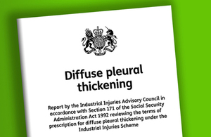 Diffuse pleural thickening: IIAC report