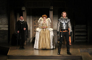 Shakespeare's Rebel by C.C. Humphreys, 2015 Photo by David Blue