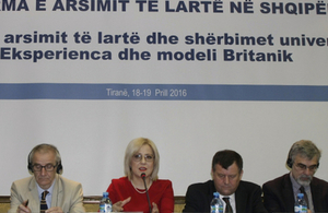 British Embassy confirms its continuous support to higher education in Albania