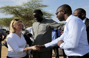 British Secretary of State for International Development meets Turkana County government officials