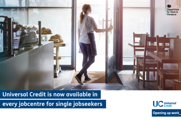 Rollout of flagship welfare reform Universal Credit reaches historic milestone