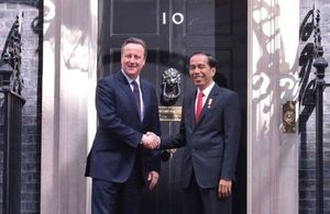 PM meeting with President Joko Widodo of Indonesia
