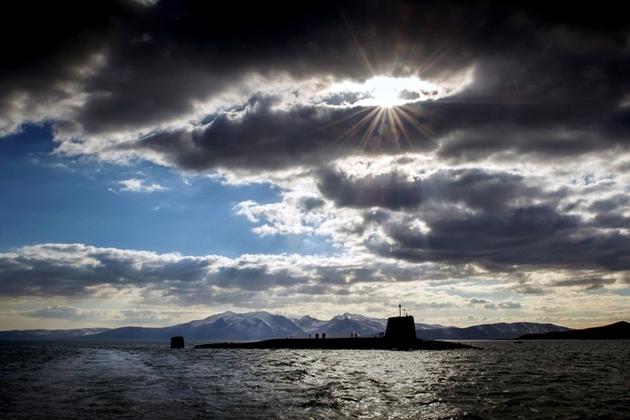 Vanguard-class submarine HMS Victorious.