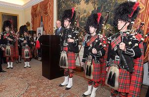 La Embajada Británica en Buenos Aires celebró el cumpleaños de la Reina
