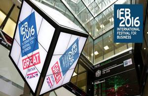 UKTI en el Festival Internacional Empresarial (IFB2016)