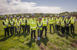 New Sellafield nuclear training centre groundbreaking