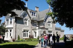 Public attends Doors Open Ottawa at Earnscliffe