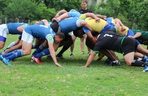 British Embassy promoting Rugby in Uzbekistan