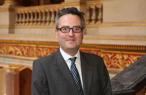 British High Commissioner Nic Hailey