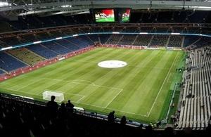 Scotland vs Italy football match