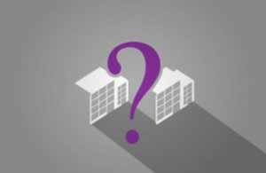 Companies House image of question mark and buildings