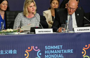 Read the 'UK leads new approach to prevent and respond to crises at the first-ever World Humanitarian Summit' article