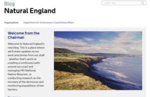 Natural England blog