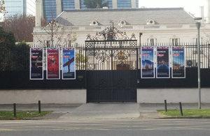 Residencia Británica en Santiago, Chile.