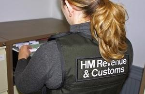 HMRC enforcement officer