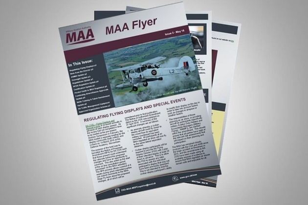 Military Aviation Authority (MAA) newsletter