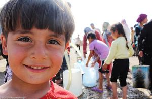 Syrian child refugee