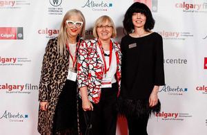 Opening of the Calgary Film Centre