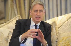 Foreign Secretary Philip Hammond