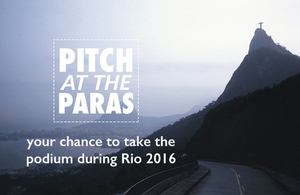 Read more about the Pitch at the Paras