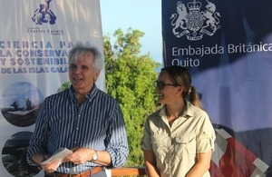 UK supports sustainable energy in the Galapagos Islands