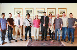 British mountaineers arrive in Pakistan to break records while tackling K2