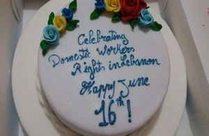 Celebrating International Migrant Domestic Workers Day in Beirut