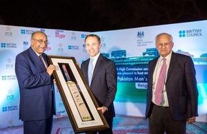British High Commissioner hosts Iftar dinner for Pakistan Cricket Teams