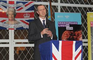 British Ambassador to DRC, Graham Zebedee